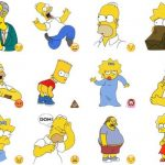 stickers-telegram-simpsons