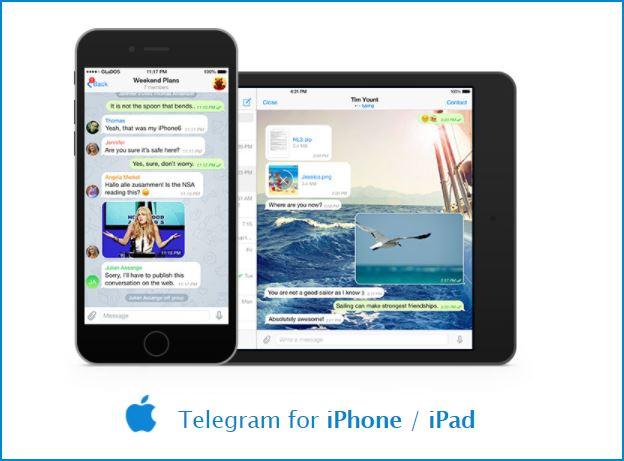 telegram-para-ios