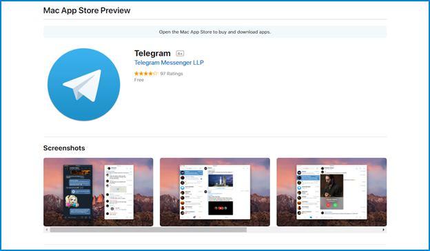 version-telegram-app-store